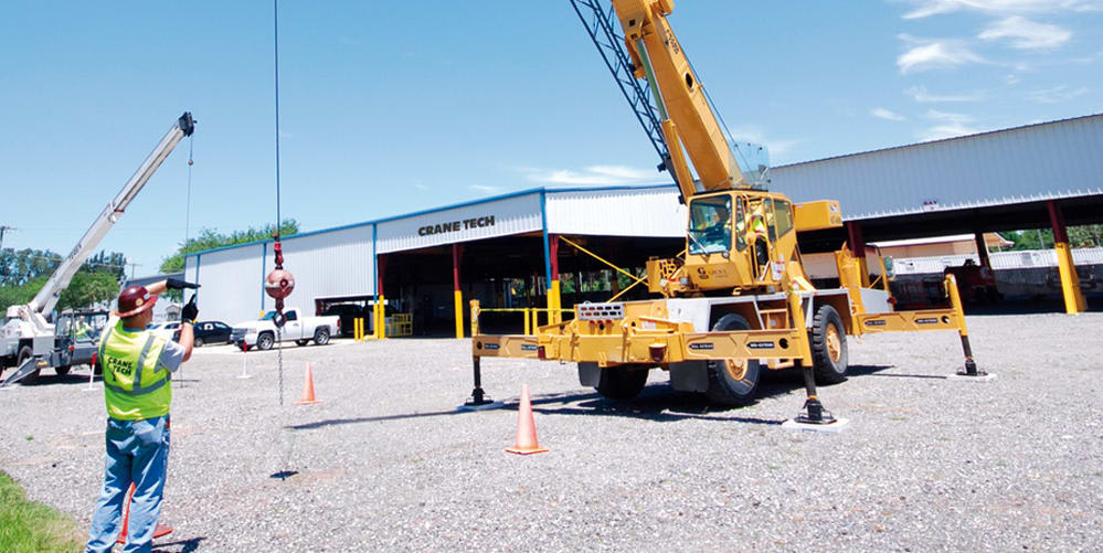 Crane Training School Nccco Crane Operator Rigger Training