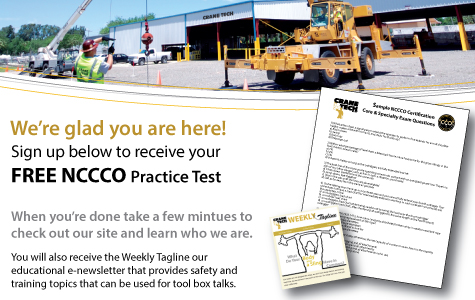 Download Our Free NCCCO Practice Test - Crane Tech